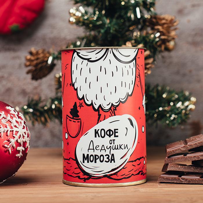 Подарочный кофе ОТ ДЕДУШКИ МОРОЗА купить в Перми