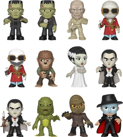Фигурка Funko Mystery Minis: Universal Monsters S2: 12PC