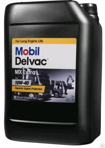 Масло моторное  синтетическое (20л) / MOBIL DELVAC MX EXTRA 10W-40, 20L АРТ: 152673