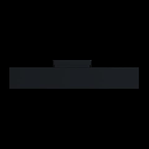 Светильник трековый светодиодный 25W 300x50x50мм черный