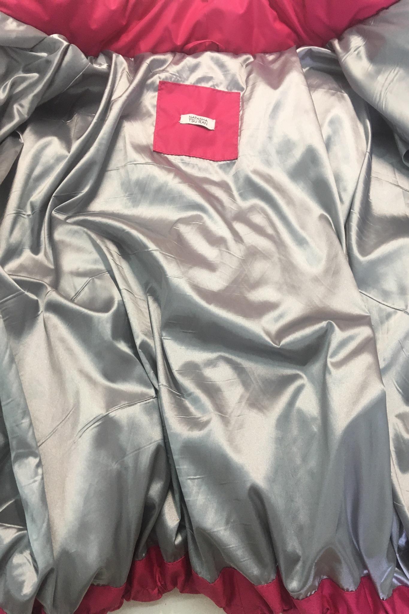 Куртка объёмная, А-силуэт, весенняя
