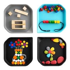 Пример игр с использованием подноса EDX Education