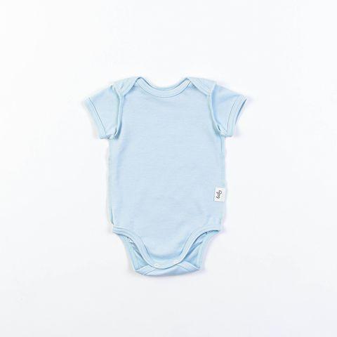 Short-sleeved bodysuit 0+, Aqua