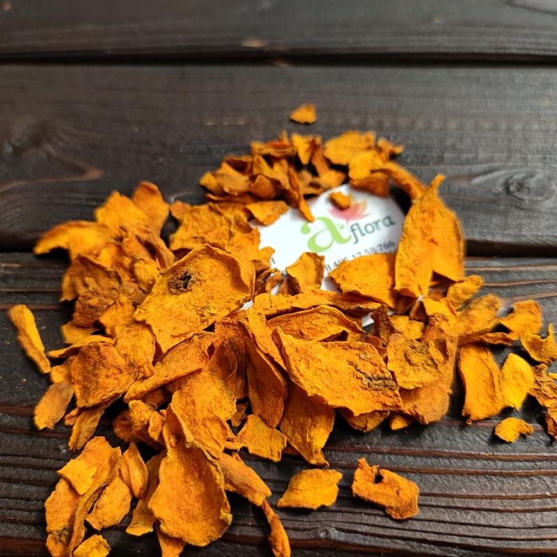 Фотография Куркума цейлонская слайсы (Шри-Ланка) / 50 г купить в магазине Афлора