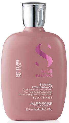 Шампунь для сухих волос Alfaparf Semi Di Lino Moisture Nutritive Low Shampoo