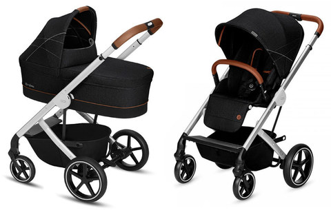 Детская коляска Cybex Balios S 2 в 1 Denim Collection Lavastone Black