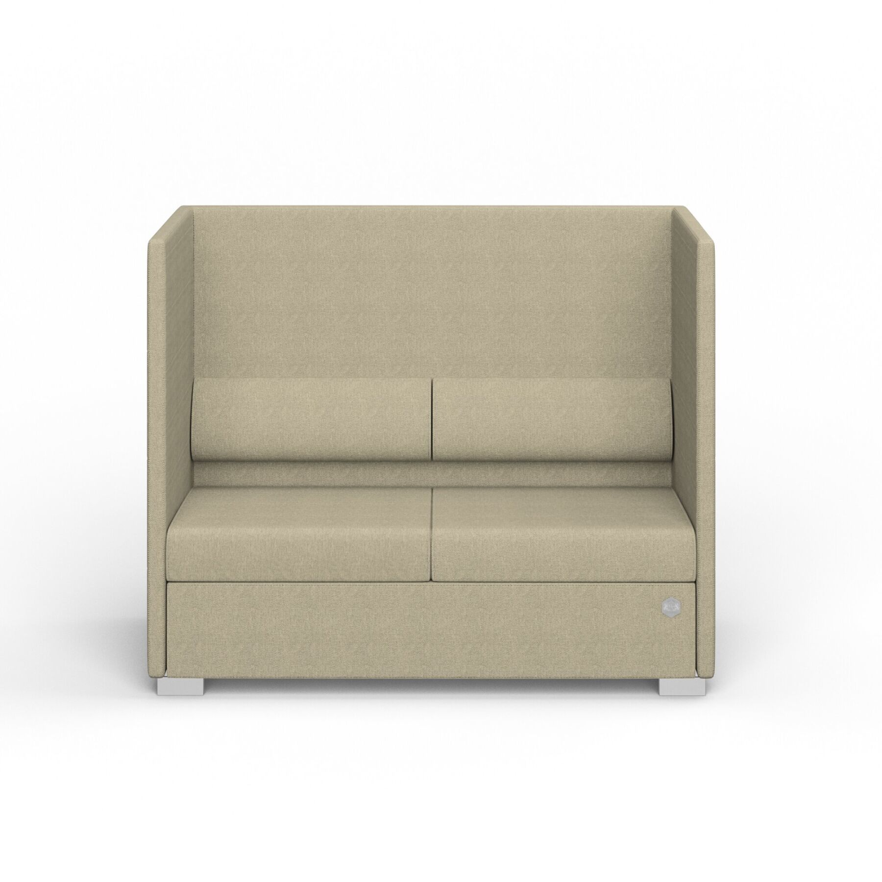 Двухместный диван KULIK SYSTEM PRIVATE Ткань 2