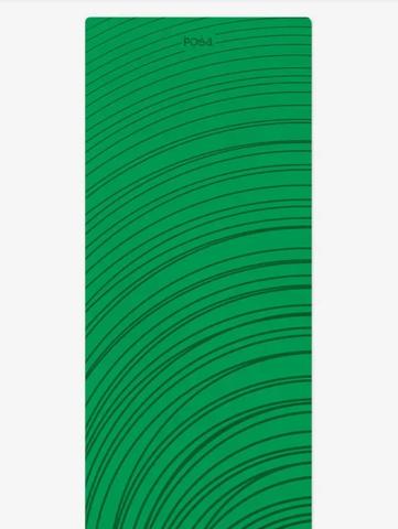 Коврик для йоги travel Non slip Green Ripple  183*61*0,2 см
