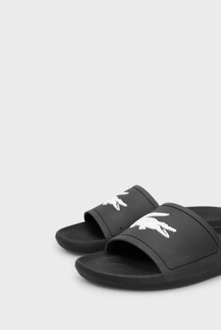 Мужские черные слайдеры CROCO SLIDE 119 1 CMA Lacoste