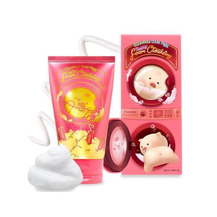 ELIZAVECCA Пенка для умывания ELIZAVECCA Clean Piggy Pinkenergy Foam Cleansing 120 мл 187540056_w640_h640_penka-dlya-umyvaniya.jpg