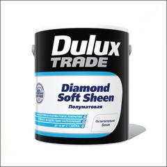 Краска для стен и потолка Dulux Trade Diamond Soft Sheen BW (Белый)