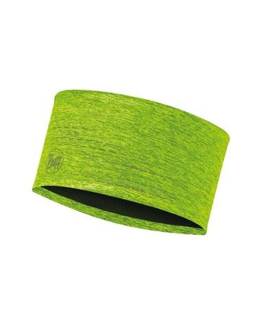 Повязка на голову спортивная со светоотражающими нитями Buff Headband Dryflx R-Yellow Fluor фото 1