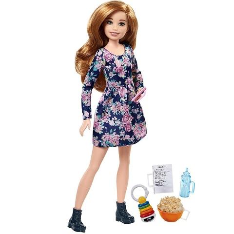 Барби Скиппер Няня с Попкорном