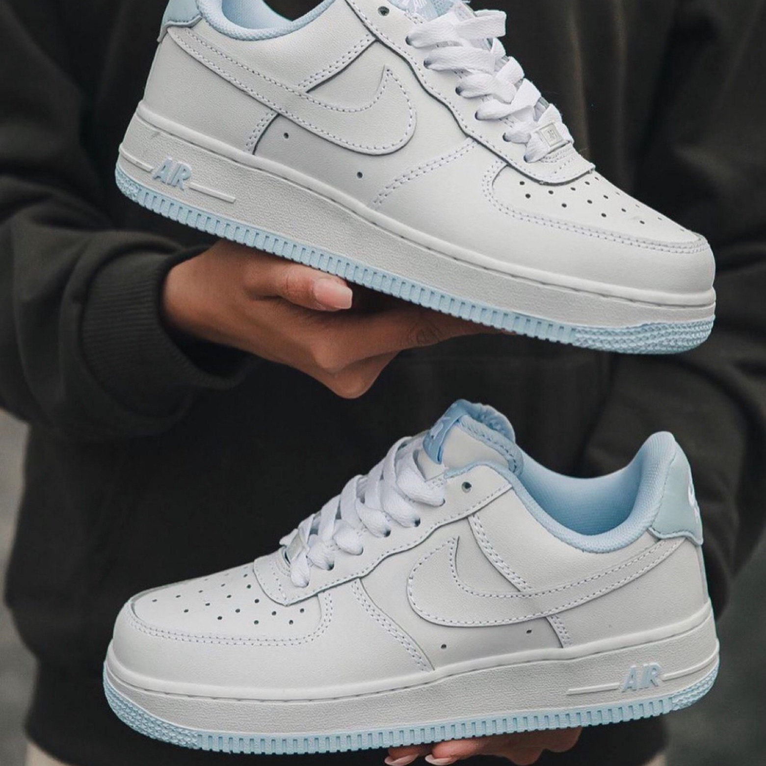 Nike Air Force 1 Hydrogen White/Blue