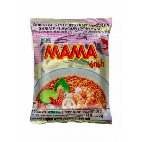 Лапша тайская быстрого приготовления Мама со вкусом Том Ям,60г