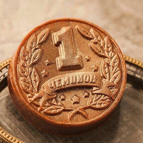 Форма для мыла Медаль Чемпион