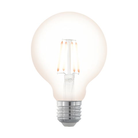 Лампа  LED филаментная диммир. Eglo NORTHERN LIGHTS LM-LED-E27 4W 390Lm 2200K G80 11706