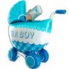 Детская коляска для мальчика 107 см
