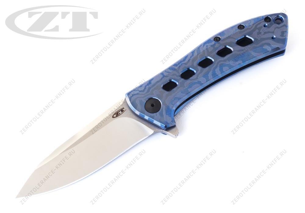 Нож Zero Tolerance 0801TIBLU Rexford