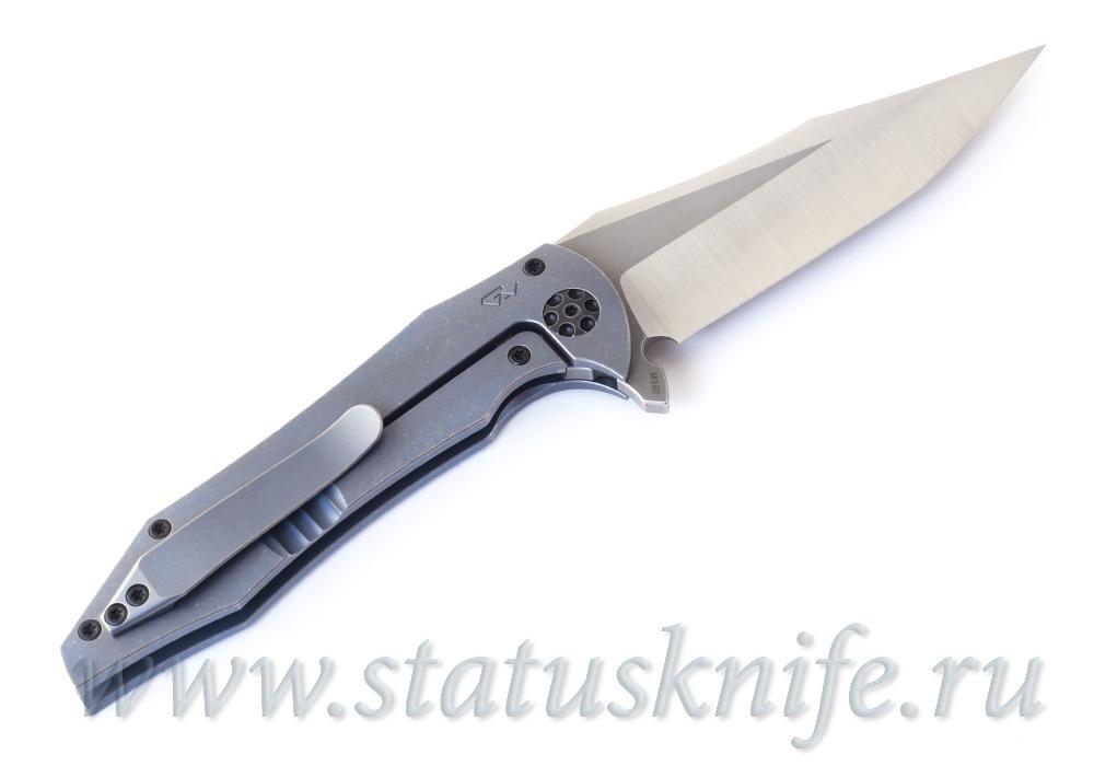 Нож CKF/GAVKO Tiger Flipper (M390, титан) - фотография