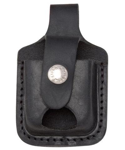 Чехол для зажигалки Zippo LPTBK, черный123