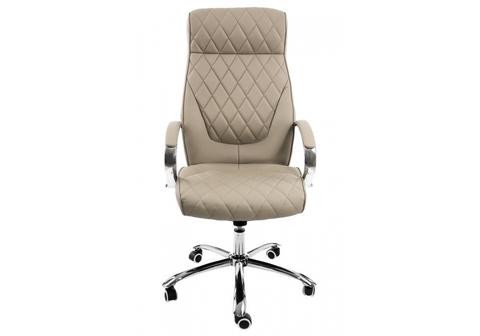 Офисное кресло для персонала и руководителя Компьютерное Monte серое 67*67*129 Хромированный металл /Серый