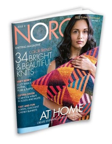 Журнал по вязанию Noro Magazine N.9 с переводом на русский язык