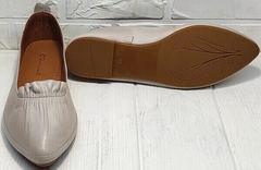 Модные женские туфли на низком ходу Wollen G036-1-1545-297 Vision.