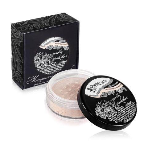 Для макияжа Пудра-Основа Тон №3 ПЕРСИКОВАЯ, с матирующим эффектом, SPF 10, 10 мл/5гр TM ChocoLatte