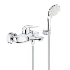 Смеситель для ванны с душевым набором Grohe Eurostyle 2372930A фото