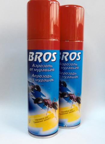 Брос от муравьев (BROS), аэрозоль