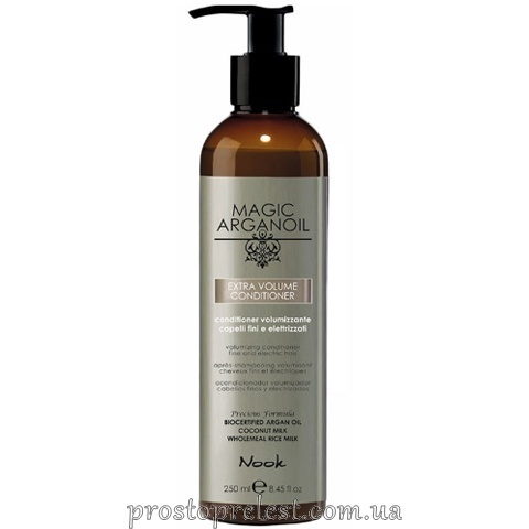 Nook Magic Arganoil Extra Volume Conditioner — Кондиціонер для об'єму тонкого і ослабленого волосся