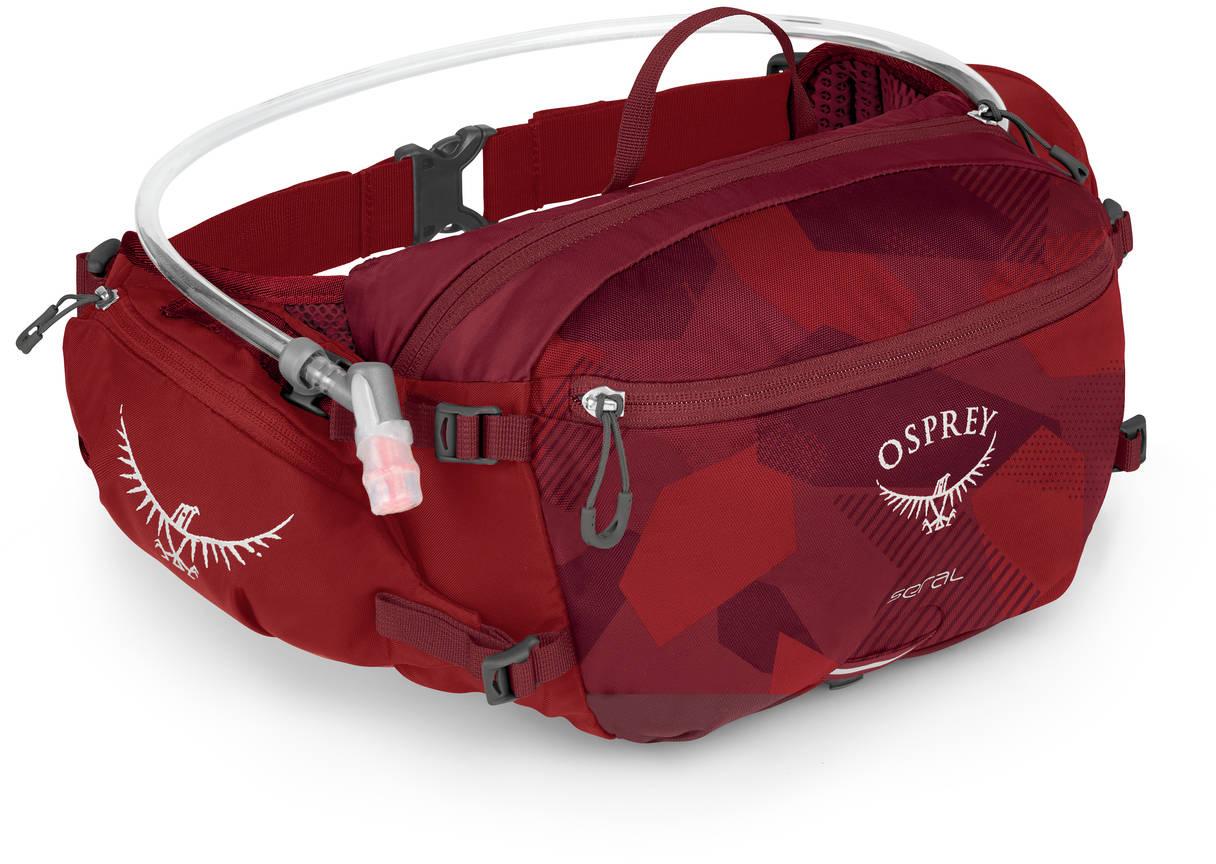 Сумки для бега Сумка поясная Osprey Seral 7 Molten Red Seral_S19_Side_Molten_Red_web.jpg