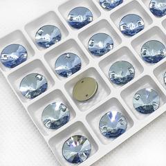 Купите стразы пришивные Rivoli Light Blue, Риволи Круг Лайт Блю голубые
