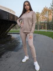 Спортивный костюм женский оверсайз бежевый nadya