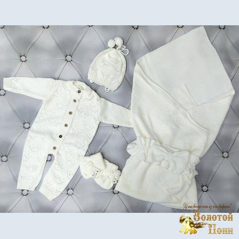 Комплект новорожденному 5 предм ЛЕТО (0-6) 210604-NV11105