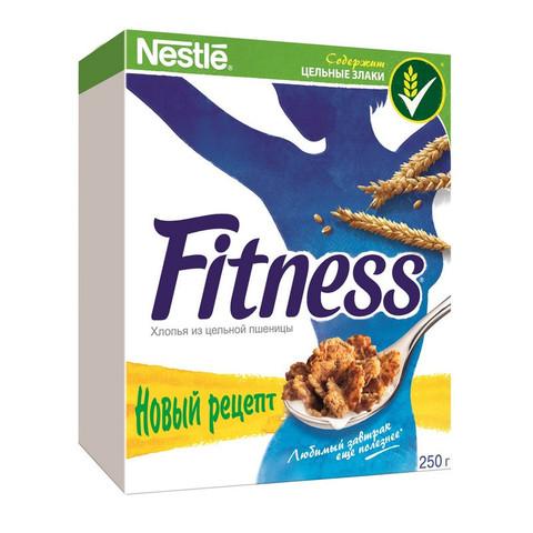 Хлопья Nestle Fitness из цельной пшеницы 250 г