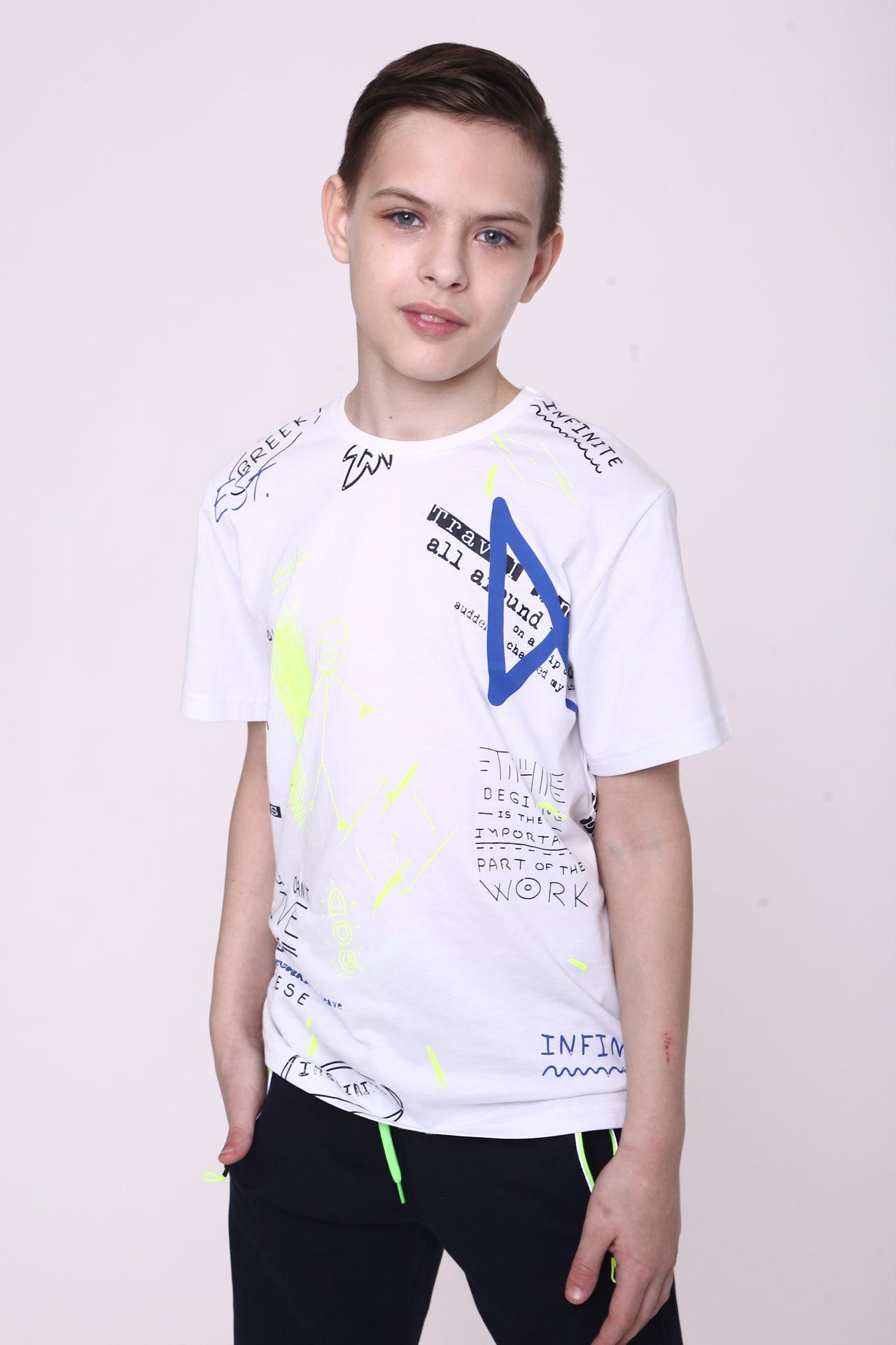 Футболка для мальчика Greek Cegisa Турция, 0561 (140-152)