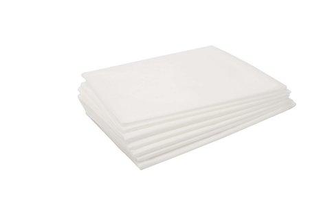 Простыни 70х200 (сложение) белые 50 штук
