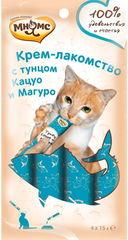 Мнямс Крем-лакомство для кошек с тунцом Кацуо и Магуро