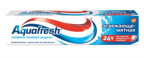 Зубная паста Aquafresh освежающая мятная 100 мл
