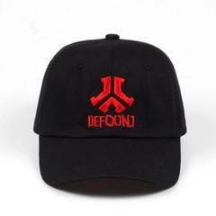 Кепка Defqon.1 (Бейсболка) черная