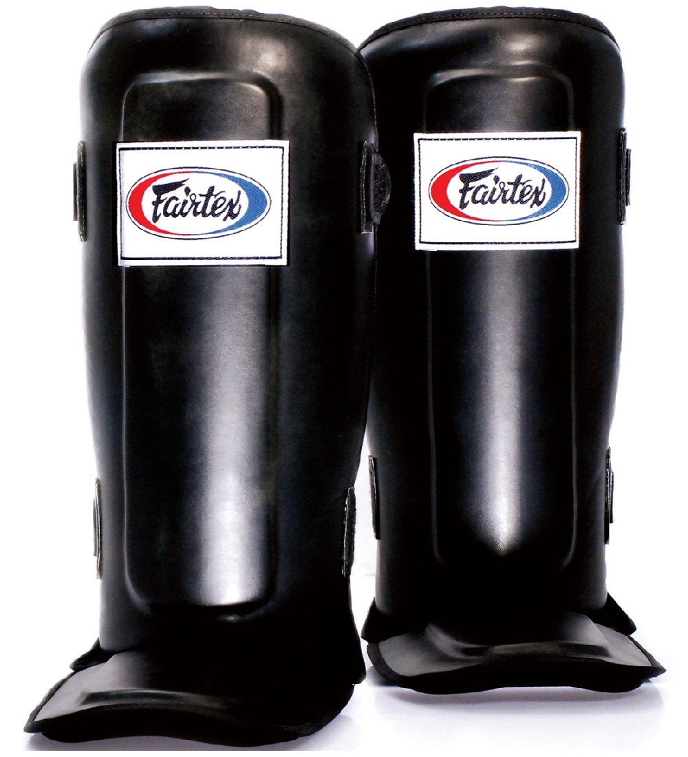 Защита ног Щитки Fairtex Shin Pads SP3 Black 1.jpg