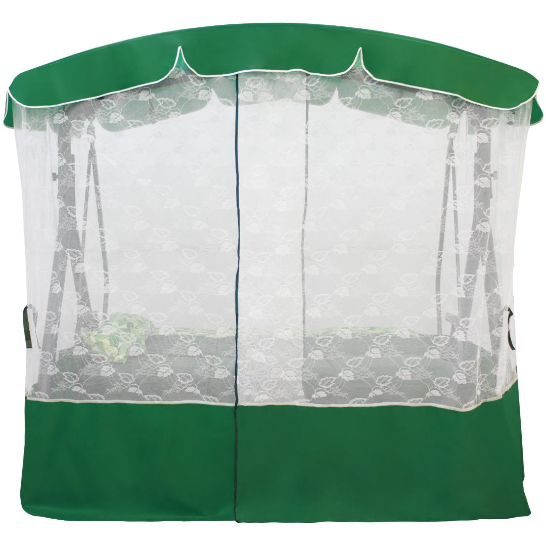 Тент для качелей Элегант Премиум зеленый