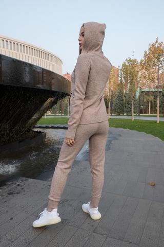 Спортивный костюм женский оверсайз бежевый интернет магазин