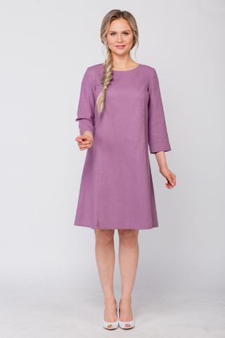 Платье льняное Лаванда