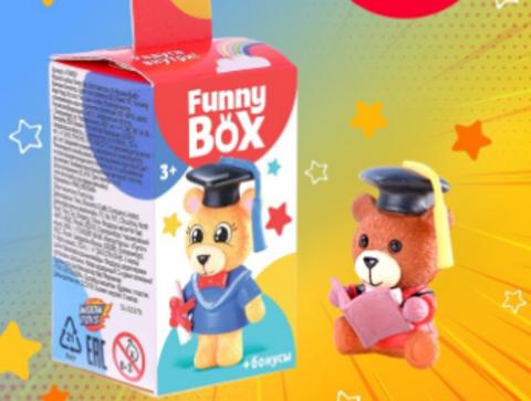 068-4004 Набор для детей Funny Box «Мишки» Набор: радуга, инструкция, наклейки, МИКС