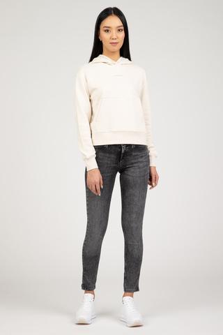Женское худи Calvin Klein LOGO TRIM HOODIE