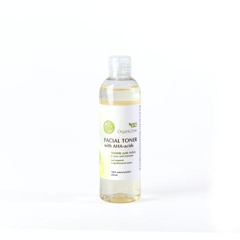 OZ! Тоник для лица с АНА-кислотами для жирной и проблемной кожи (250 мл)