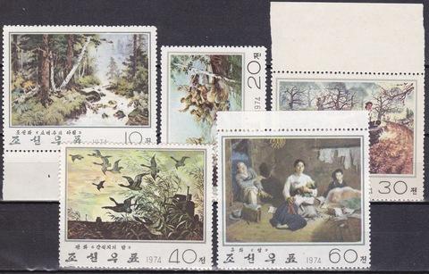 Корея 1974 №1310-4 **MNH